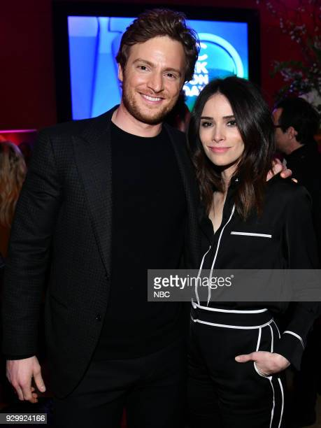 EVENTS 'NBC New York Midseason Press Day' Pictured Nick Gehlfuss from 'Chicago Med' on NBC Abigail Spencer from 'Timeless' on NBC