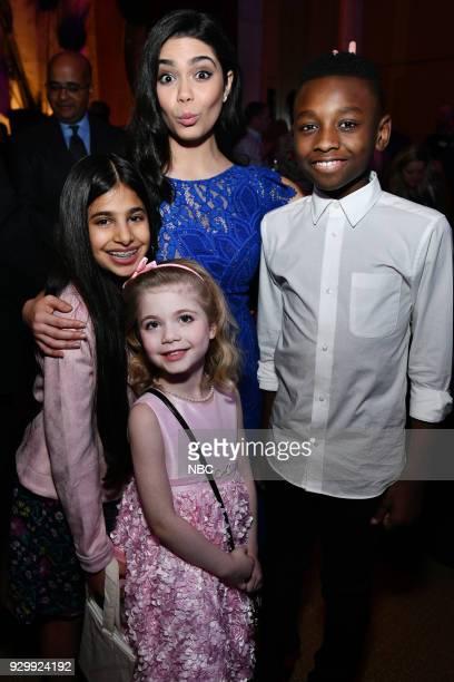 EVENTS 'NBC New York Midseason Press Day' Pictured Shivaji Sahu from 'Genius Junior' on NBC Auli'i Carvalho from 'Rise' on NBC Ariana Jalia Miles...