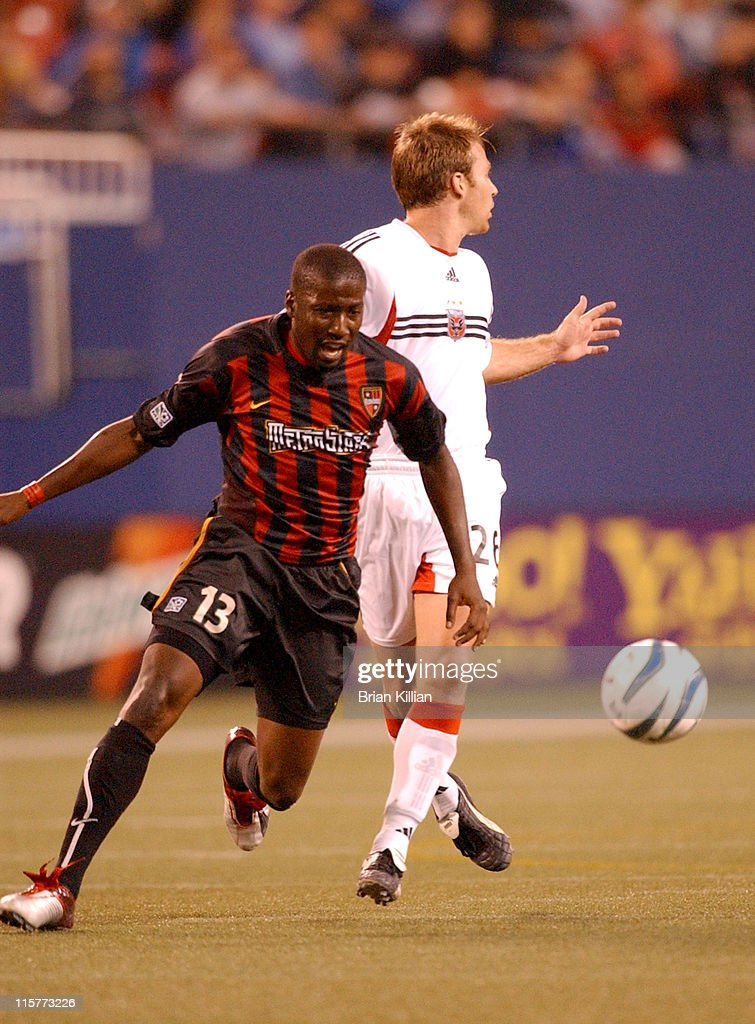 newest collection 2db9c 19cce New York / New Jersey Metrostars Forward Cornell Glen gets ...