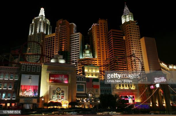new york new york after dark - nee nee stock photos and pictures