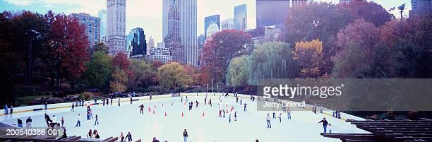 USA, New York, New York City, Central Park, Wollman Rink