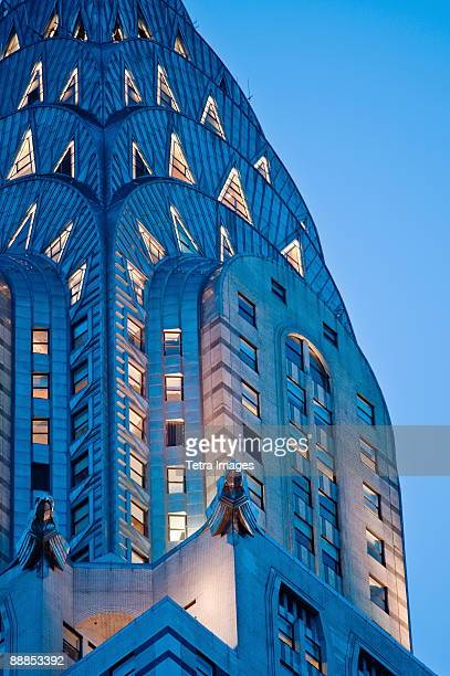 USA, New York, New York City, Chrysler Building detail