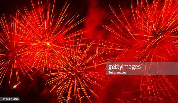 USA, New York, New York City, Fourth of july fireworks