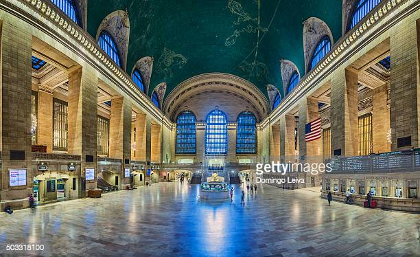 usa, new york, new york city, grand central station interior - grand central station stock photos and pictures