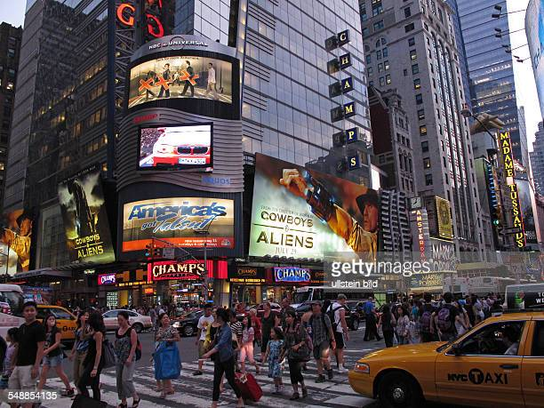 USA New York New York City Times Square