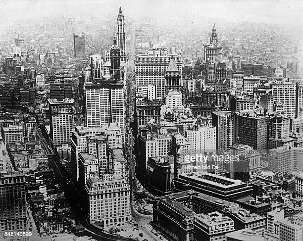 1931 Chicago Skyline restored and remastered | Chicago ... |Museum New York Skyline 1920