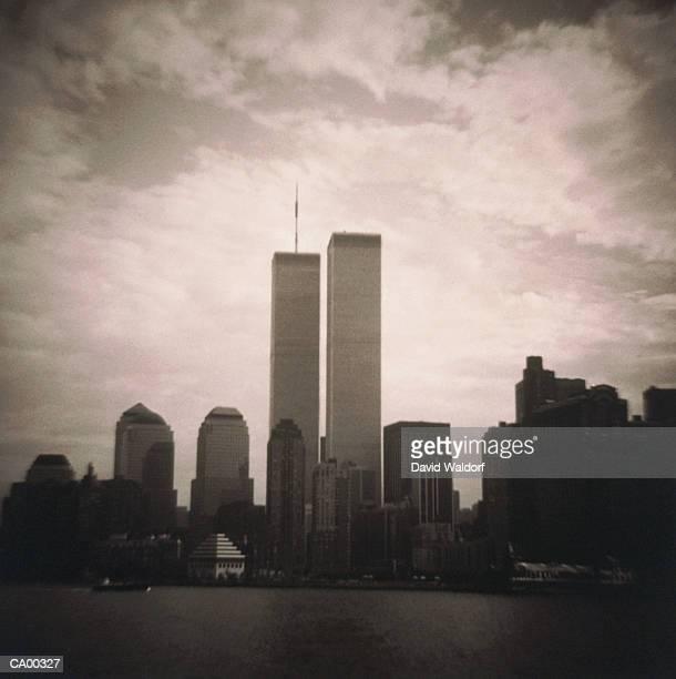 USA, New York, New York City, World Trade Center and financial distric