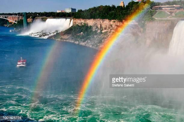 USA, New York, Niagara falls, view of USA side