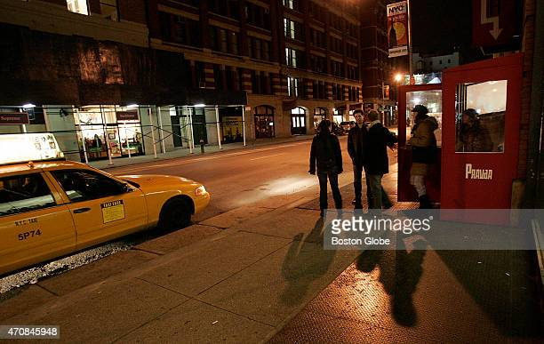 New York nightlife near The Falls Bar on Layfayette and Spring Streets SOHO section of New York City where the muder victim Imette St Gullen was last...