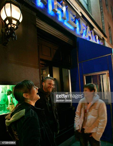 New York nightlife near The Falls Bar on Layfayette and Spring Streets SOHO section of New York City where the murder victim Imette St Gullen was...