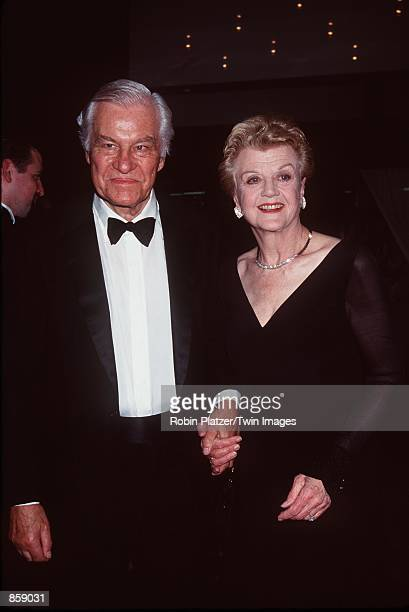 New York NY Angela Lansbury and husband Peter Shaw at the Tony Awards Picture Robin Platzer/Twin Images/Online USA INc