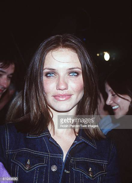 New York Ny Cameron Diaz At The Premiere Of Being John Malkovich