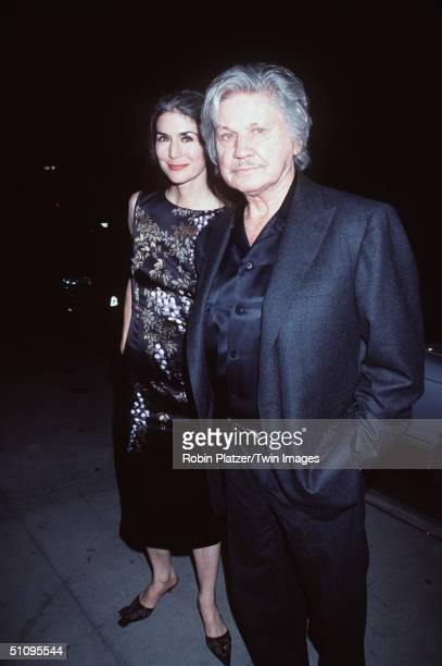 New York, Ny Charles Bronson & Wife Kim Weeks At The American Cinema Awards Foundatin Gala Honoring Diane Warren.