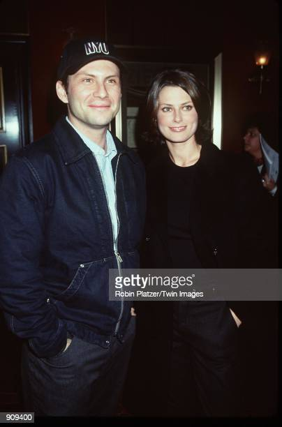 New York NY Christian Slater and Ryan Haddon attends the premiere of 'The Bone Collector' Photo Robin Platzer/Twin Images/Online USA Inc