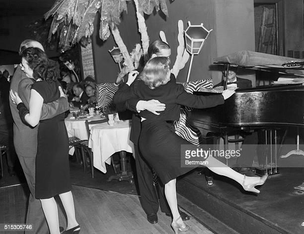Couples dancing at El Morocco night club Photograph circa 1940s