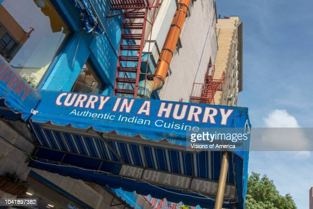 New York NY Curry in a Hurry Indian Food