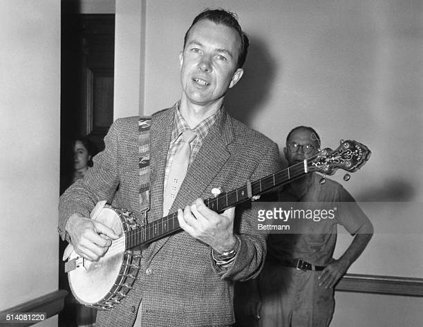 Image result for pete seeger getty images