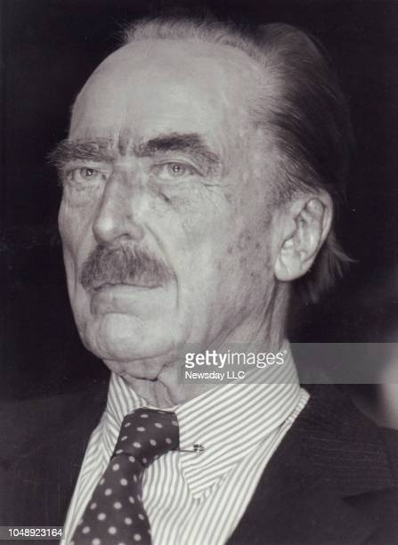 Fred C Trump father of Donald Trump taken at Chemical Bank on Park Avenue in Manhattan on December 14 1992