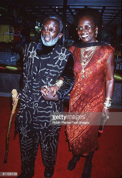 New York Ny Garrett Morris And Wife Freda At Saturday Night Live's 25 Anniversary Special