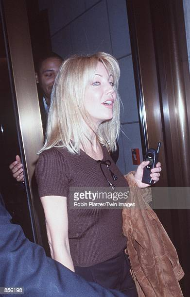 New York NY Heather Locklear at The Museum of Radio Television for 'InsideSpin City' a panel discussion featuring the cast and creative team of the...
