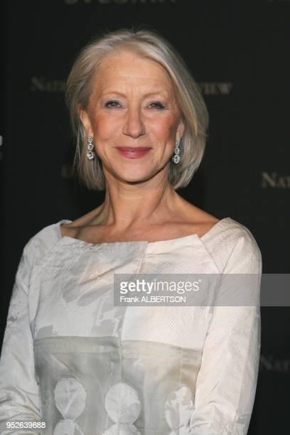 New York NY Jan 9 2007 Helen Mirren at the 2006 National Board of Review Awards Gala half length smile eye contact Frank Albertson