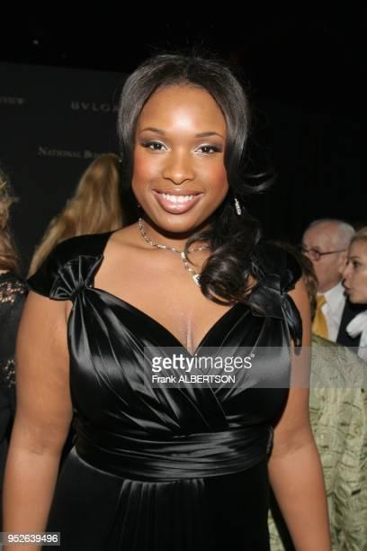 New York NY Jan 9 2007 Jennifer Hudson at the 2006 National Board of Review Awards Gala half length smile eye contact Frank Albertson