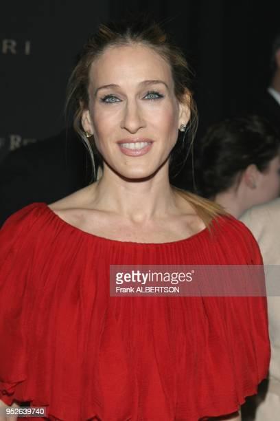 New York NY Jan 9 2007 Sarah Jessica Parker at the 2006 National Board of Review Awards Gala half length smile eye contact Frank Albertson