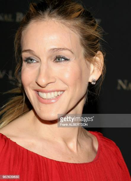 New York NY Jan 9 2007 Sarah Jessica Parker at the 2006 National Board of Review Awards Gala portrait stud earring smile Frank Albertson