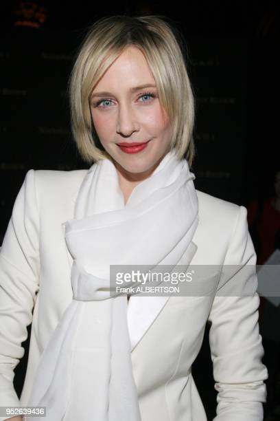 New York NY Jan 9 2007 Vera Farmiga at the 2006 National Board of Review Awards Gala half length smile eye contact white suit gold clutch Frank...