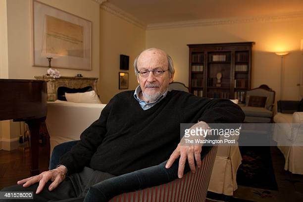 Celebrated author E L Doctorow discusses his new book Andrews Brain at his apartment in New York NY on January 10 2014 E L Doctorows works of fiction...