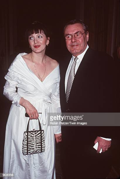 New York NY Milos Forman with his wife Martina at the American Museum of The Moving Image Gala to salute Steve Martin Photo Robin Platzer/Twin...