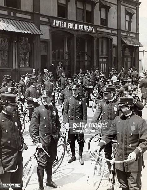 New York's Finest with their Bicycles