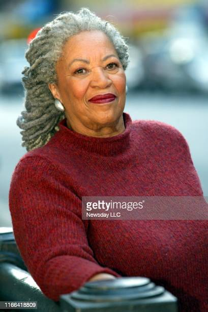 Nobel laureate Toni Morrison photographed in Manhattan on October 13, 2003.