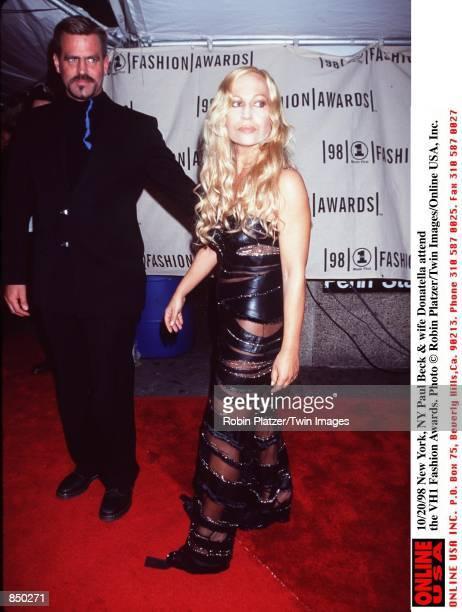 New York NY Paul Beck and wife Donatella at the VH1 Fashion Awards
