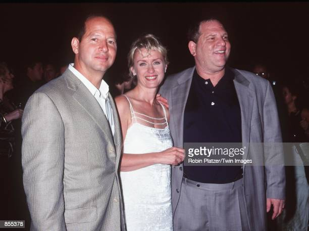 New York NY Ron Galotti Tina Brown and Harvey Weinstein at the launch party of Talk Magazine Photo by Robin Platzer/Twin Images/Online USA Inc
