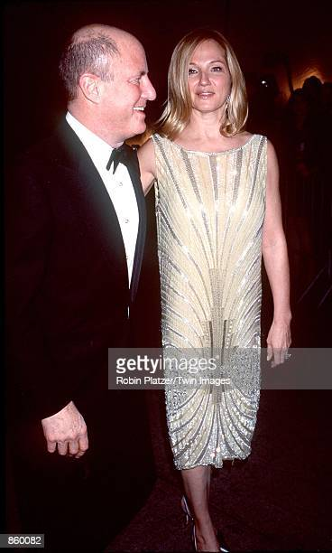 New York NY Ron Perelman and Ellen Barkin at the Metropolitan Museum of Art for the Costume Institute Gala Photo by Robin Platzer/Twin Images/Online...