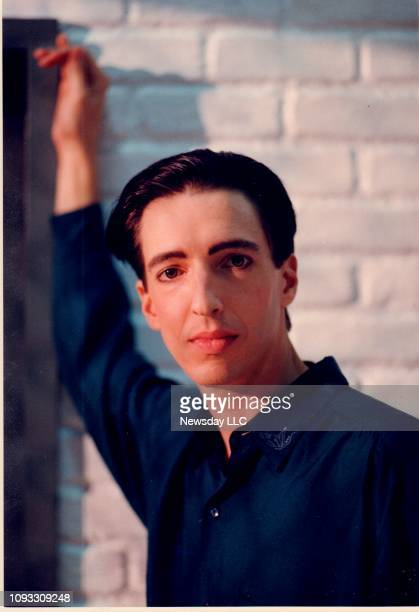 Ron Reagan Jr poses on the set of an upcoming HBO special in Manhattan on November 25 1987