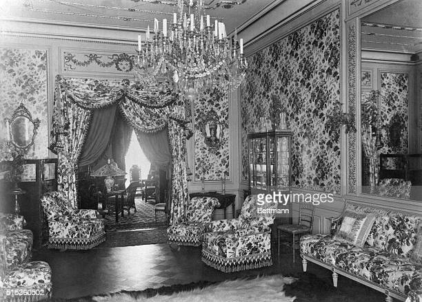 Room in Wharton home on West 25th Street in New York Home of Edith Wharton's mom Wharton was married here Photo from her own picture album