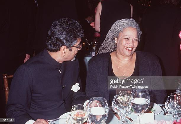 New York NY Sonny Mehta and Toni Morrison at the 1999 PEN Literary Gala Photo Robin Platzer/Twin Platzer/Online USA Inc