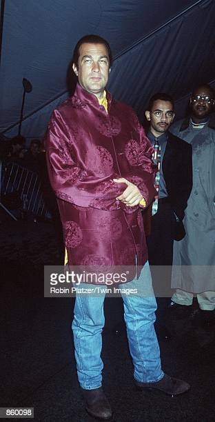 New York NY Steven Seagal at the Metropolitan Museum of Art for the Costume Institute Gala Photo by Robin Platzer/Twin Images/Online USA Inc