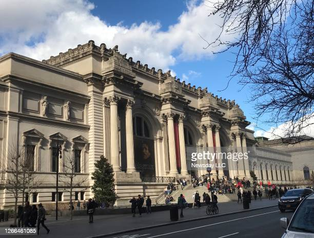 The exterior of the Metropolitan Museum of Art in Manhattan on March 12, 2020.