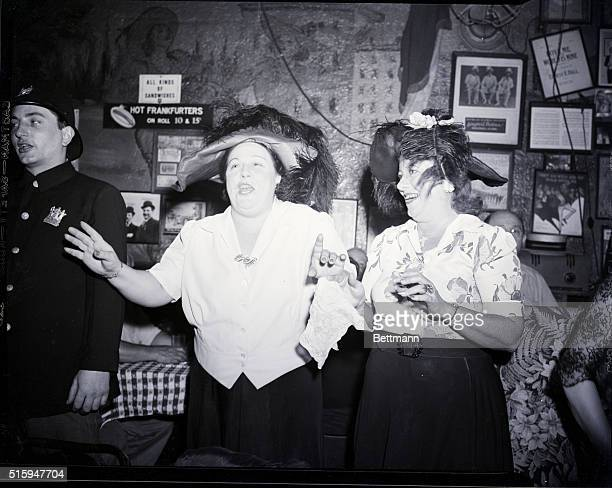 2/24/1946 New York NY Tillie and Alice are popular performers at Sammy's They are oldtime singers specializing in the songs Grandma sang or heard...