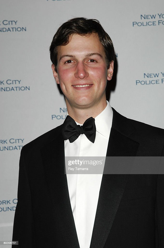 New York Observer owner Jared Kushner attends the New York City Police Foundation's 30th Annual Gala at the Waldorf Astoria Hotel's Grand Ballroom March 11, 2008 in New York City.