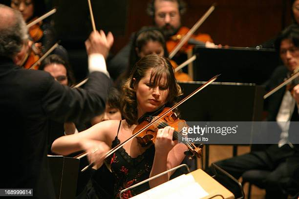 New York Philharmonic performing at Avery Fisher Hall on Thursday night March 11 2005This imageLorin Maazel conducting NY Philharmonic in...