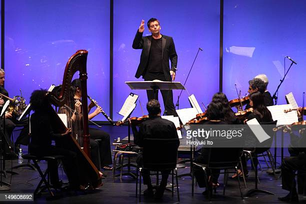 New York Philharmonic performing at Park Avenue Armory on Friday night June 29 2012The concert is titled Philharmonic 360This imageMatthias Pintscher...