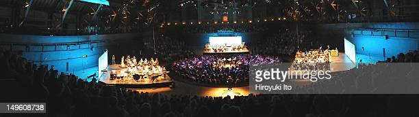 New York Philharmonic performing at Park Avenue Armory on Friday night June 29 2012The concert is titled Philharmonic 360This imageNew York...