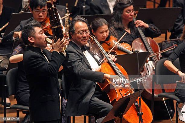 New York Philharmonic performing in Chinese New Year Celebration The Year of the Sheep at Avery Fisher Hall on Tuesday night February 24 2015This...