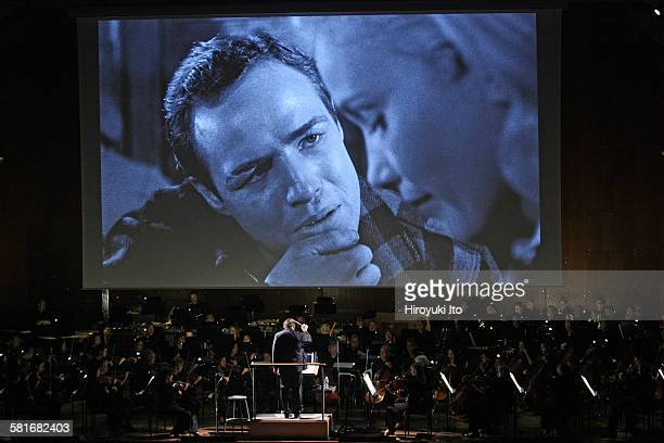 New York Philharmonic presents On the Waterfront Film with Live Orchestra at Avery Fisher Hall on Friday night September 18 2015On the Waterfront is...