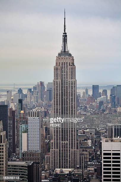 new york - empire state building stock pictures, royalty-free photos & images