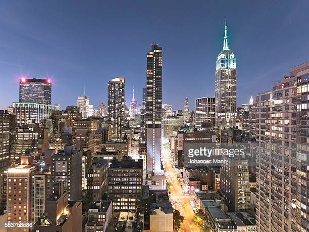new york - sixth avenue stock pictures, royalty-free photos & images